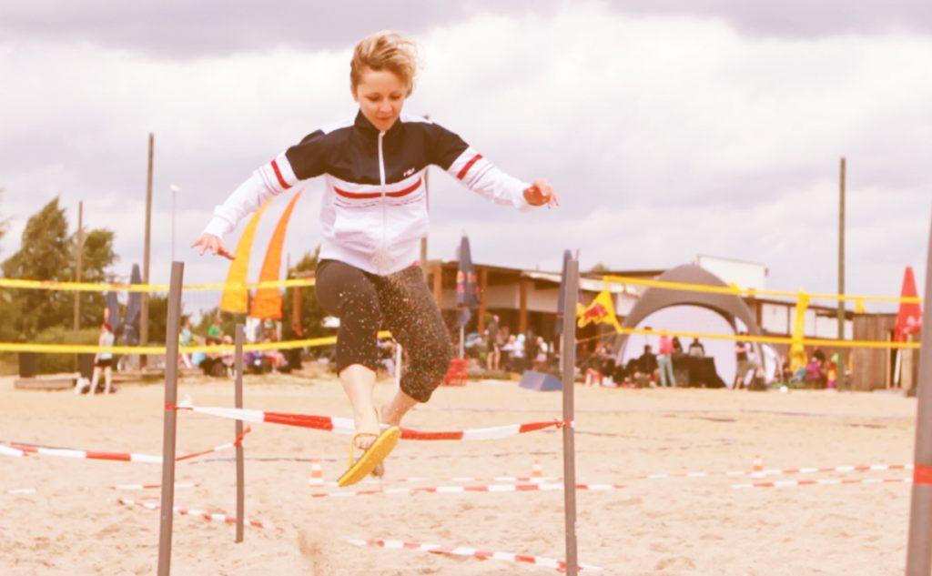 Flip-Flop-Rennen